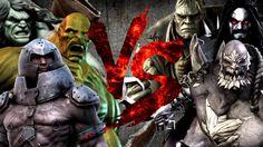 Здоровяки Marvel VS Здоровяки DC [Bifrost Fight Club 3.0]