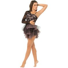 Reverence Dance Apparel: Costumes: Lyrical ❤ liked on Polyvore featuring costumes, dance, dresses, costume, dance costumes, ballerina costume, ballerina halloween costume and ballet costumes