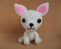 White chihuahua amigurumi Amigurumi Toys, Amigurumi Patterns, Crochet Patterns, White Chihuahua, Crochet Animals, Dog Crochet, Basic Dog Training, I Like Dogs, Dog Games