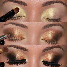 maquiagem para pele negra passo a passo para noite - Pesquisa Google