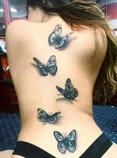 74 Very Beautiful Butterfly Tattoo Designs that You'll Amazed Back Tattoos, Hot Tattoos, Great Tattoos, Unique Tattoos, Beautiful Tattoos, Body Art Tattoos, Sleeve Tattoos, Asian Tattoos, Butterfly Tattoos For Women