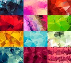 High Quality Geometric polygon backgrounds   high resolution polygon backgrounds…