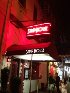 Strip House NYC - What's not to like about great meat, and great decor...