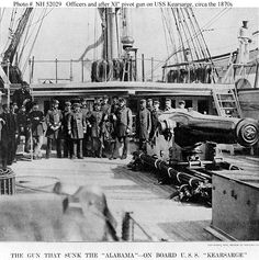 The navy was an important component to the Civil War. The Union blockade became very effective in cutting off supplies to the Confederacy.
