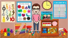 15 Ways To Virtually Welcome Kids Back to School - WeAreTeachers Counting In 5s, Back To School, School Stuff, Teaching Math, Welcome, Classroom, Shapes, Education, Learning