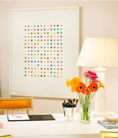 Bright Daisys & a Damien Hirst