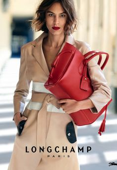 Alexa Chung Stars in Longchamp's Spring 2016 Campaign | InStyle.com
