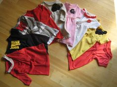 Coffee & Bananas: refashion: men's polo shirt to baby dress