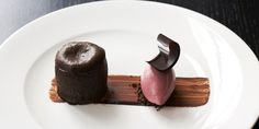 For the ultimate chocolate indulgence, this gooey chocolate and cherry fondant from pastry chef and consultant Daniel Fletcher is sure to fi...