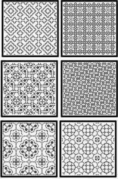 схема Blackwork Cross Stitch, Cross Stitch Geometric, Blackwork Embroidery, Cross Stitch Borders, Cross Stitch Designs, Cross Stitch Embroidery, Embroidery Patterns, Hand Embroidery, Cross Stitch Patterns
