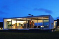 Glass house.