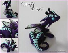Polymer Clay Butterfly Dragon by ShaidySkyDesign on deviantART