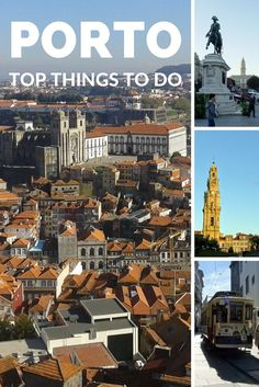 Downtown Porto. Top things to do and see in Porto. Europe Travel.