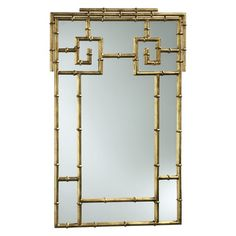 I pinned this Bamboo Wall Mirror from the Roxy Owens event at Joss and Main!