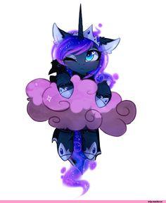 Princess Luna,принцесса Луна,royal,my little pony,Мой маленький пони,фэндомы,mlp art,MagnaLuna,artist