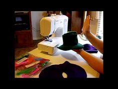 How to Make a Doll Cowboy Hat Pt. 1