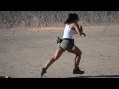 Michelle Viscusi Shooting Spring Steel With Her Glock 34 9mm - YouTube