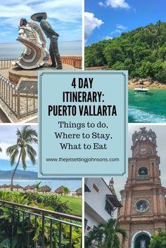 Visiting Puerto Vallarta, Mexico: A 4 Day Itinerary * The Jet-Setting Johnson's Puerto Vallarta, Porta Vallarta Mexico, Mexico Vacation, Mexico Travel, Riviera Maya, Vacation Destinations, Vacation Spots, Mexico Destinations, Places To Travel