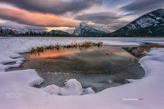 Basin on Lake - Vermilion Lake Banff, Alberta Canada. Photography by Sherwin Calaluan