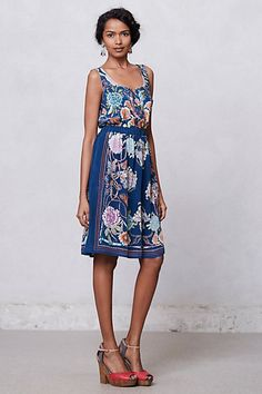Silk Mabel Dress #anthropologie - Love this dress!