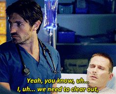 Image result for the night shift drew and rick