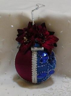 Shabby Chic Christmas Balls 27 by ShabbyChicXmas on Etsy