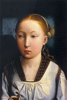 Juan de Flandes, Portrait of an Infanta, 1496 (Portrait thought to be of 11-year old Catherine of Aragon)