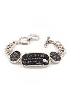 Love Is Kind Bracelet