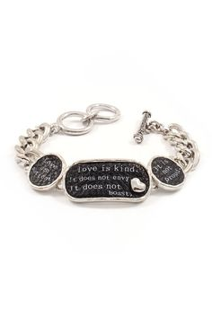 Love Is... Bracelet on Emma Stine Limited