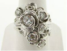Crazy impressive and often one-of-a-kind artistic wedding rings ...