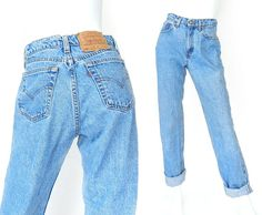 Vintage 90s Levi's 560 High Waisted Women's Jeans by SadieBessVintage - $42