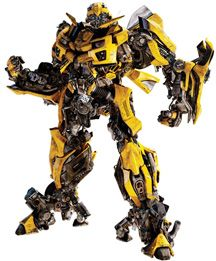 Bumble Bee Transformers Peel and Stick. RMK1290GM