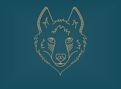 Siberian Husky Line Icon by baker2512 on Creative Market