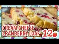 Cream Cheese Cranberry Loaf - a Christmas tradition in our house! Cream Cheese Cranberry Loaf - a Christmas tradition in our house! Cream Cheese Bread, Cream Cheese Rolls, Cream Cheese Muffins, Cranberry Cheese, Cranberry Sauce, Banana Cranberry Bread, Classic Desserts, Breakfast Dessert, Pumpkin Bread