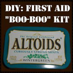 Altoids Tin: Urban EDC First Aid Kit or My Boo-Boo Kit