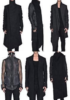 Vision of the Future: Coats-- i like all except the see through coat