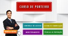 CURSO DE PORTEIRO PROFISSIONAL: MATRÍCULAS ABERTAS - CURSO DE PORTEIRO