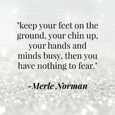 Some #inspiration from our very own founder, Merle Norman. #MerlesPearls #MerleNorman