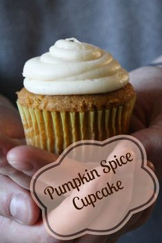 Perfect Pumpkin Spice Cupcakes for all fall and winter occasions.