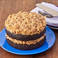 @Kelly Teske Goldsworthy Teske Goldsworthy Teske Goldsworthy Baur Gluten Free - German Chocolate Fudge Cake