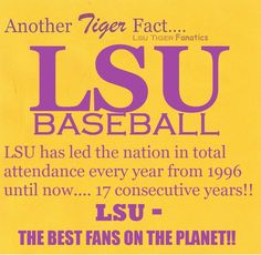 LSU Baseball Fact