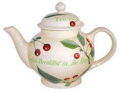 """""""Cherries"""" Kitchen Garden Teapot"""