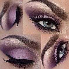 Loving this plum smokey eye? Then follow @vegas_nay (if you're not already)