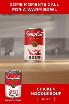 Nothing warms you up like a comforting bowl of Campbell's Chicken Noodle Soup made with fresh noodles. Healthy Fats, Healthy Choices, Chicken Noodle Soup Ingredients, Food Truck, Crockpot, Lose Weight, Weight Loss, Cough Remedies, Acne Remedies