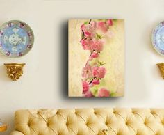 Large wall artLarge Ready to hang Stretched Canvas by RishStudio