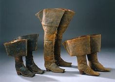 about 1655 men`s boots. COLLECTION OF THE Royal Armoury