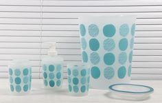 #blue #Circles #bathroom #modern #popular #bathroomsupplier #BathroomBusiness #bathroomset