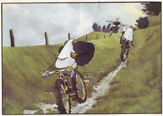 I've been riding mountain bikes since the early and have always read Mountain Biking UK. One of the greatest parts of the magazine and the thing that I always turn to first, is Mint Sauce. Mountain Biking Uk, Riding Mountain, Mint Sauce, Mtb, Painting, Bike, Random, Bicycle, Painting Art