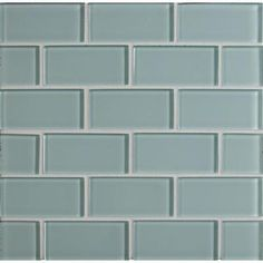Null Arctic Ice Subway 12 In X 8 Mm Gl Mesh Mounted Mosaic Tile