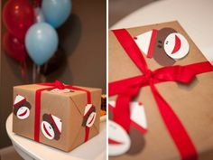 EAT DRINK PRETTY: Real party: a sock monkey first birthday